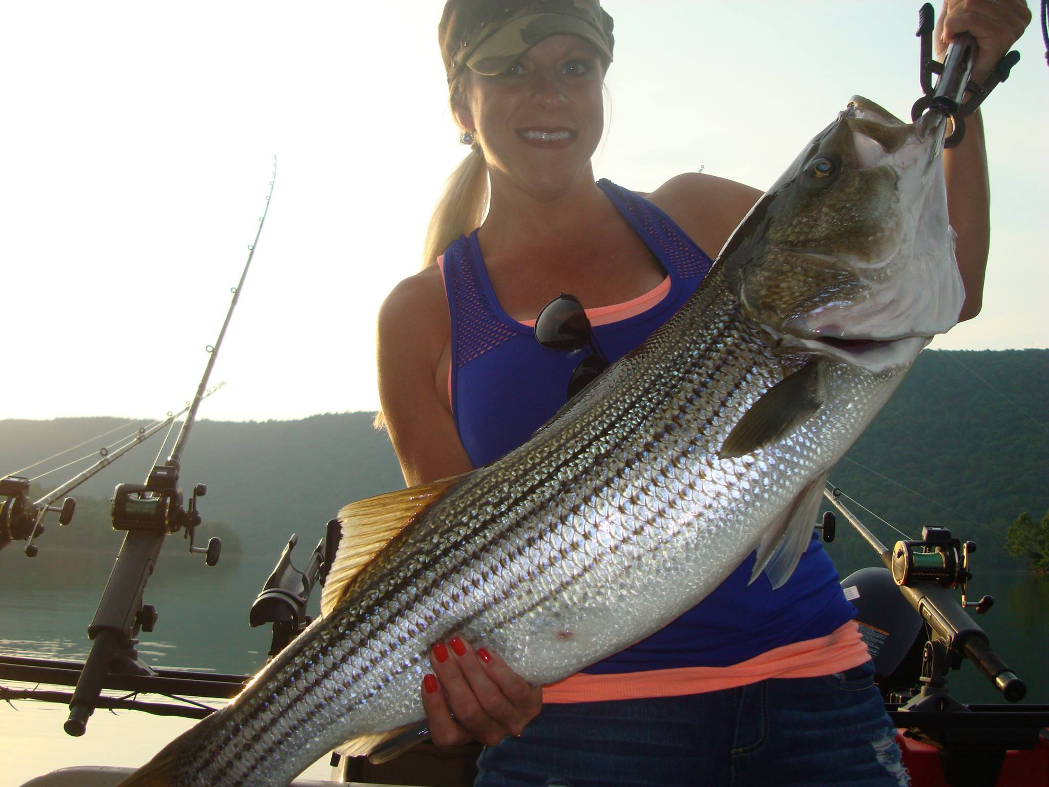 raystown lake striper guide
